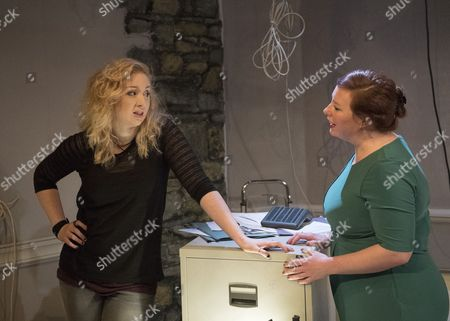 Editorial image of 'Everything Between Us' Play by David Ireland performed at the Finborough Theatre, London, UK, 01 May 2017