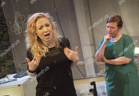Katrina McKeever as Teeni, Lynsey-Anne Moffat as Sandra