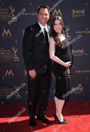 Mark Steines and Leanza Cornett