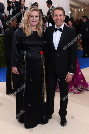 Justine Wheeler and Jeff Koons