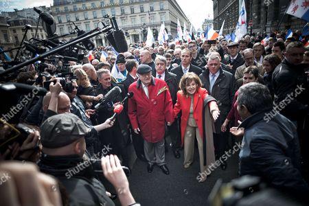 Jean-Marie Le Pen and Jany Le Pen
