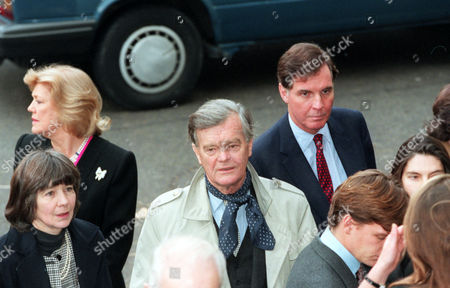 Alan Clark Conservative M.p.arriving At The St. Johns Church Smith Square This Morning For A Memorial Service For The Late Sir James Goldsmith.