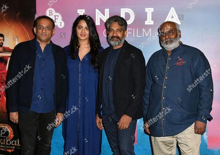 Editorial image of 'Baahubali' 2 film photocall, London, UK - 02 May 2017