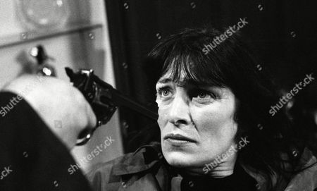 Siege at Home Farm - Reg holds a gun to Shirley's head and warns police not to shoot or he will kill her - With Shirley Turner, as played by Rachel Davies. (Ep 1874 - 2nd June 1994).
