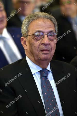 Stock Picture of Amr Moussa