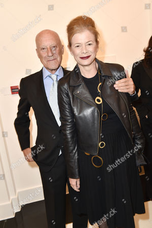 Norman Foster and wife Elena