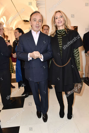 Editorial photo of 'Galerie Thaddaeus Ropac' pre-opening party, London, UK - 26 Apr 2017