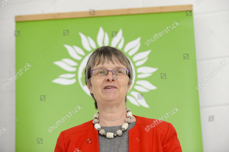 Molly Scott Cato, MEP and Green party candidate for Britsol West speaks at the Green Party launch of their Brexit policy in Hackney.
