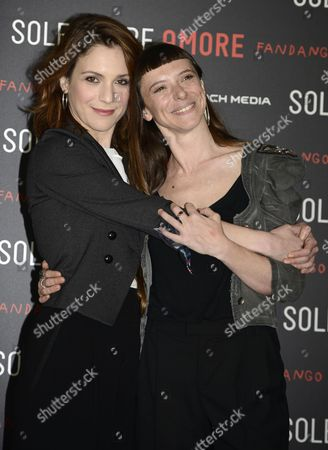 Eva Grieco and Isabella Ragonese