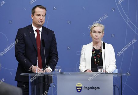 Anders Ygeman, Minister for Home Affairs, Anna Johansson, Minister for Infrastructure