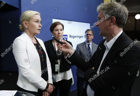 Anna Johansson, Minister for Infrastructure, Sweden is to end ID checks on buses, trains and ferries, Rosenbad, Stockholm