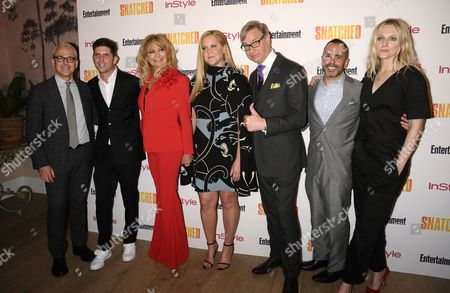 Jess Cagle, Jonathan Levine, Goldie Hawn, Amy Schumer, Paul Feig, Henry Goldblatt and Laura Brown