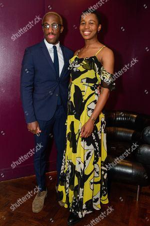 Giles Terera and Gloria Obianyo