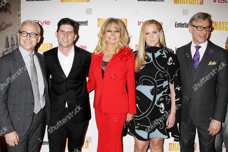 Jess Cagle, Jonathan Levine, Goldie Hawn, Amy Schumer, Paul Feig