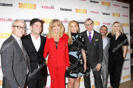 Jess Cagle, Jonathan Levine, Goldie Hawn, Amy Schumer, Paul Feig, Henery Goldblatt, Laura Brown