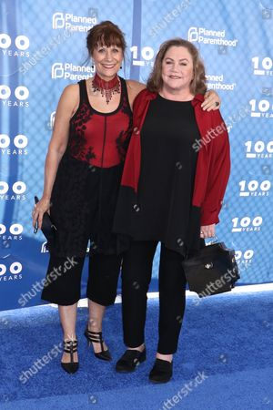 Stock Photo of Lizz Winstead and Kathleen Turner
