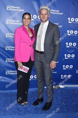 America Ferrera and husband Ryan Piers Williams