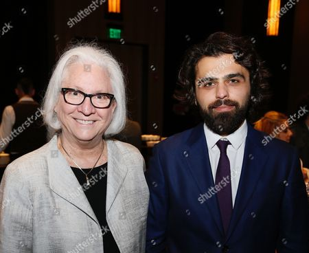 Teri Schwartz, Dean, UCLA School of Theater, Film and Television and Garin Hovannisian, Founder, Creative Armenia