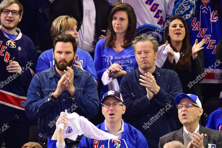 Matthew Perry  and guest (L)