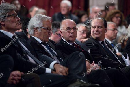 Stephane Le Foll, Francois Rebsamen, Bernard Cazeneuve, Jean-Christophe Cambadelis