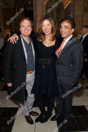 Lord Harry Dalmeny, Heather Kerzner and James Henderson