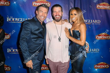 Editorial image of 'The Bodyguard' Opening Night at the Pantages Theater, Los Angeles, USA - 02 May 2017