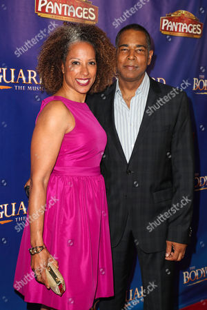 Stock Image of Millicent Shelton and guest