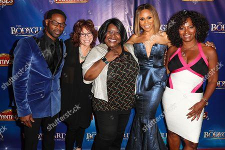 Stock Picture of Darrin Henson, Mindy Sterling, Ellia English, Deborah Cox, Vanessa Bell Calloway