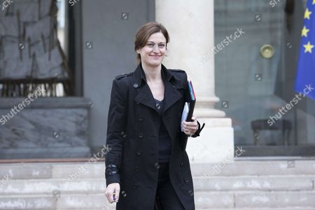 Stock Image of French Junior Minister for Victims Aid Juliette Meadel leaves after the weekly cabinet meeting
