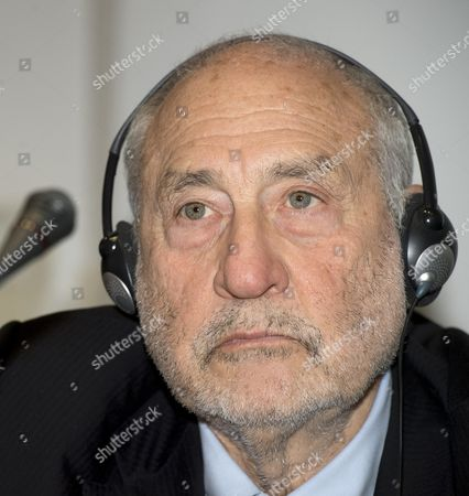 Stock Image of Joseph Stiglitz
