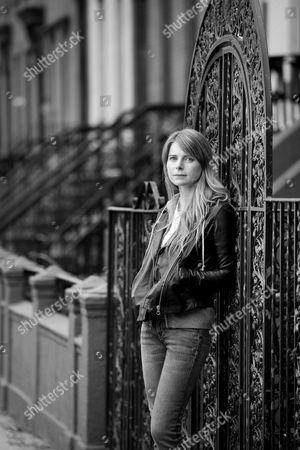 Editorial photo of Author Emma Cline photoshoot, Brooklyn, New York, USA - 19 Apr 2017
