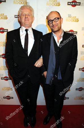 Richard Curtis and Ralph Brown
