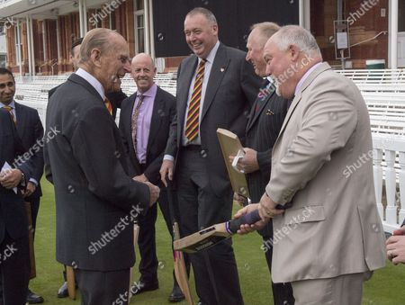 Editorial picture of Prince Philip opens the new Warner Stand at Lord's Cricket Ground, London, UK - 03 May 2017