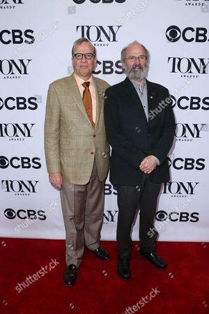 Stock Picture of Bill Elliott and Daniel Sullivan