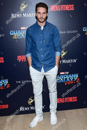 Editorial image of 'Guardians of the Galaxy Vol. 2' film premiere, Arrivals, New York, USA - 03 May 2017