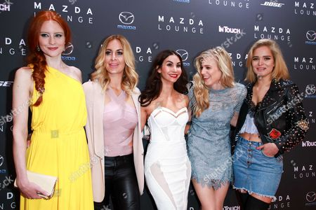 Editorial photo of Mazda-InTouch Spring Cocktail, Berlin, Germany - 03 May 2017