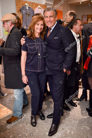 Anita Zabludowicz and Steve Varsano