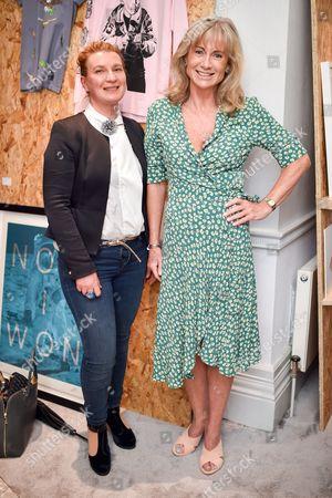 Mariana Haseldine and Lady Alison Macleod