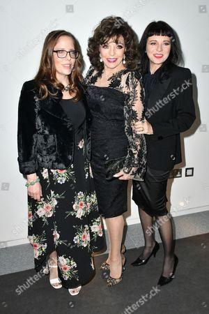 Katy Kass, Joan Collins, Tara Newley