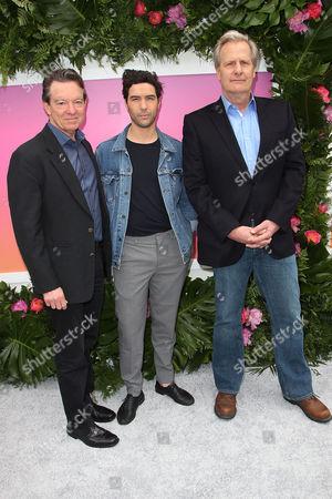 Lawrence Wright, Tahar Ramin and Jeff Daniels