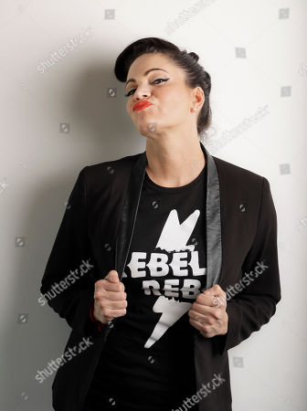 """Stock Photo of Singer and songwriter Angaleena Presley poses in Nashville, Tenn. With her new solo album, """"Wrangled,"""" Presley follows a wave of outlaw female artists in Nashville, including Nikki Lane, Margo Price and Sunny Sweeney who have built their own brands from the ground up and attracted a more diverse crowd of fans without the help of major label marketing budgets and country radio"""