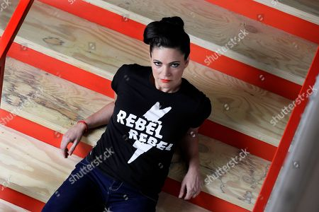 """Singer and songwriter Angaleena Presley poses in Nashville, Tenn. With her new solo album, """"Wrangled,"""" Presley follows a wave of outlaw female artists in Nashville, including Nikki Lane, Margo Price and Sunny Sweeney who have built their own brands from the ground up and attracted a more diverse crowd of fans without the help of major label marketing budgets and country radio"""