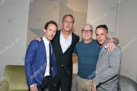 Jeffrey Seller, James Huniford, John Barrett and Josh Lehrer