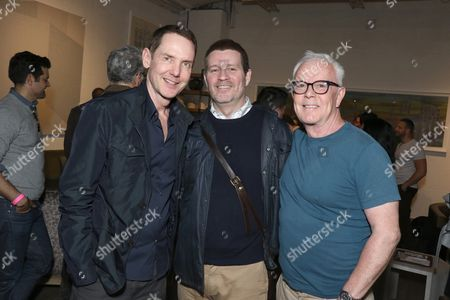 Stock Image of David Frye, Patrick O'Connell and John Barrett