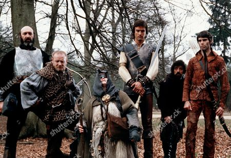 'Hawk the Slayer'  Film - 1980 - Bernard Bresslaw, William Morgan Sheppard, John Terry, Peter O'Farrell, Ray Charleson