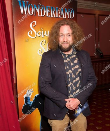 Stock Photo of Justin Lee Collins