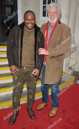 Stock Image of Anton Stephans and Matthew Kelly