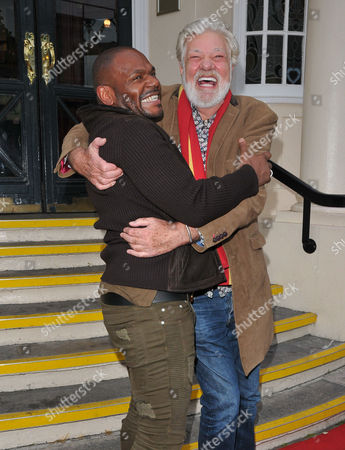 Anton Stephans and Matthew Kelly
