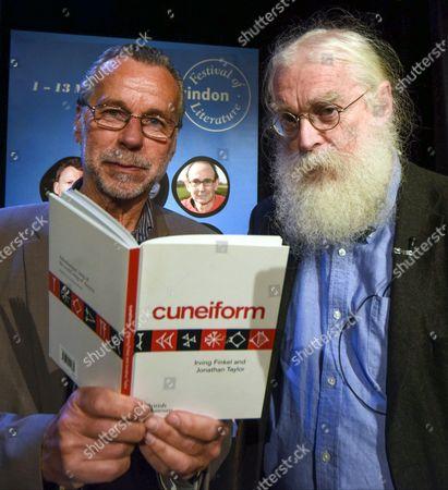 Festival Director Matt Holand and Dr. Irving Finkel