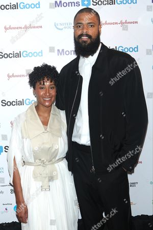 Kimberly Chandler and Tyson Chandler